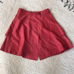 Anthro skirt w/ pockets